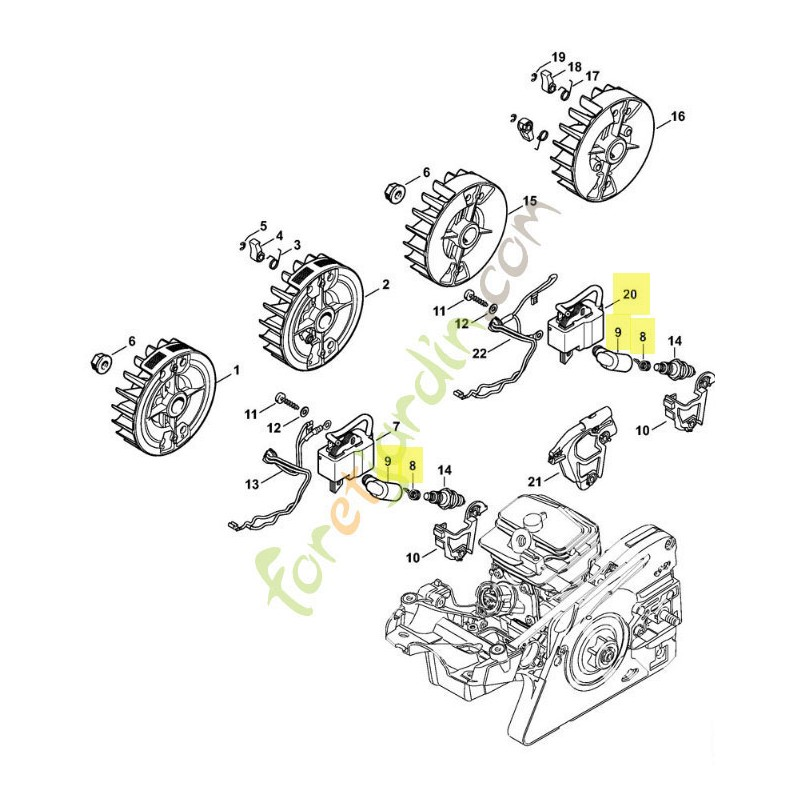 Briggs And Stratton 44n677 Wiring Harness